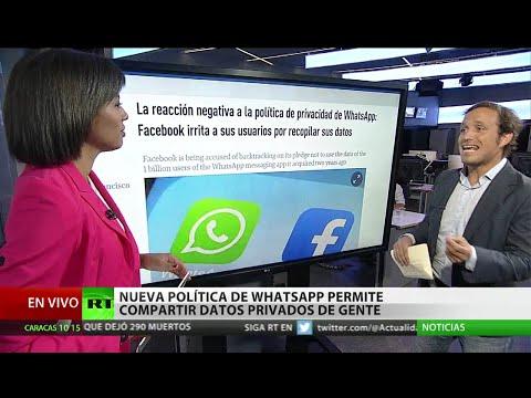 La nueva política de WhatsApp permite compartir datos privados con Facebook