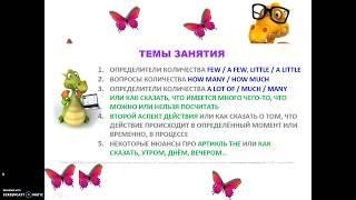 Английский до автоматизма за 15 недель с Анастасией Божок, 13 урок, отзыв