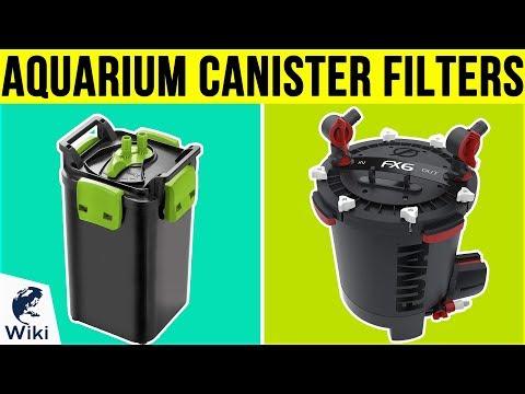 8 Best Aquarium Canister Filters 2019