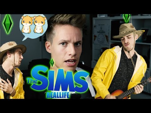 Sims Real Life (ConCrafter I Luca Lets Play)