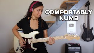 Pink Floyd Comfortably numb last solo Cover by Chlo.mp3