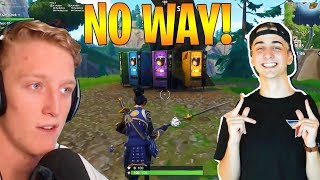 TFUE AND CLOAK REACT TO FREE VENDING MACHINES + PLAYGROUND GAME MODES! (Fortnite Stream Highlights)