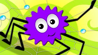 Repeat youtube video Incy Wincy Spider | Nursery Rhymes For Childrens | Songs For Kids