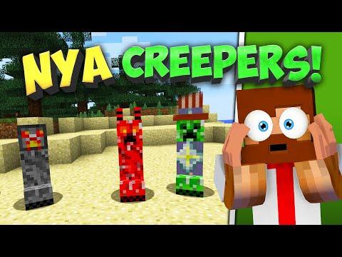 Minecraft BEHÖVER dessa NYA CREEPERS!