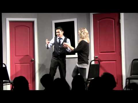 Improv scenes from Made Up Theatre