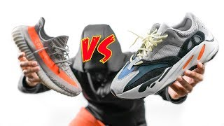 I DONT CARE WHAT ANYONE SAYS | YEEZY 700 WAVE RUNNER VS YEEZY 350 BOOST V2