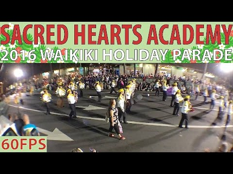 Sacred Hearts Academy Band | 2016 Waikiki Holiday Parade