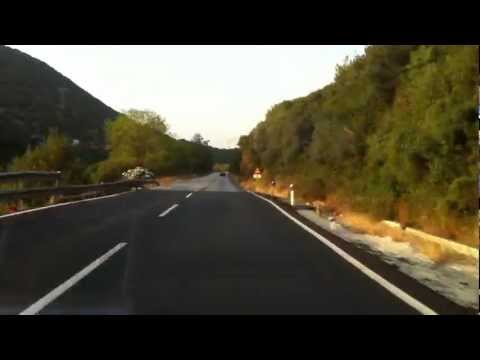 Greece: National road 5 & A5: A2(Ioannina) - Antirrio ~ PART 1 (Ioannina - Arta)