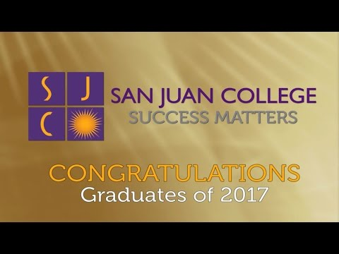 San Juan College 2017 Graduation