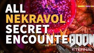 All Secret Encounter Nekravol Doom Eternal Locations