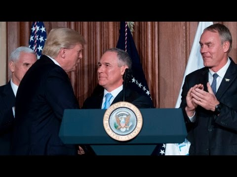 Trump's Climate Order Protects Fossil Fuel's Bottom Line