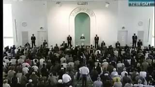 Friday Sermon 30th April 2010 (Russian)
