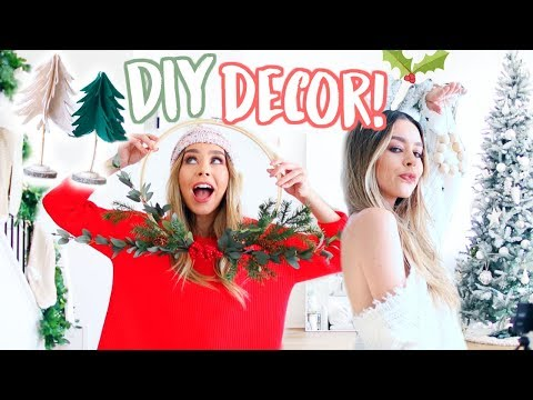 5 DIY CHRISTMAS DECORATIONS THAT ARE ACTUALLY CUTE!