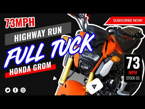 Honda MSX SF/Grom 0-60 and Top Speed | Doovi
