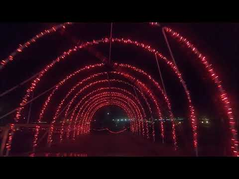 Santa's Rock n Lights Drive-Through Light Show - Omaha