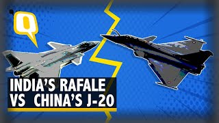 India's Rafale Vs China's J-20: Which is the Better Fighter Plane? | The Quint