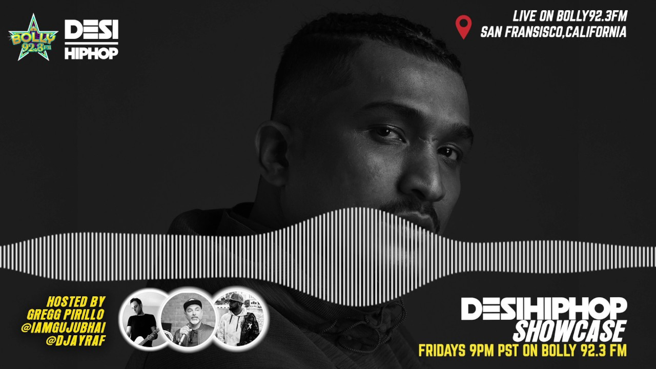 EP28 | Desi Hip Hop Showcase on Bolly Radio 92.3FM | Music Video Podcast