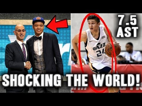 5 Rookies Shocking The World In The NBA Summer League