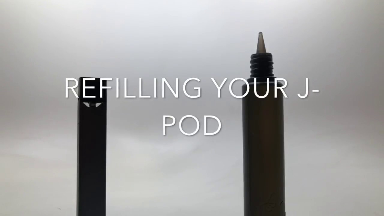 How to Refill Your J Pods for the JUUL