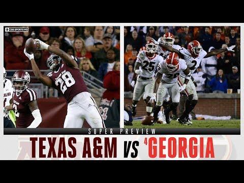 Texas A&M Vs #4 Georgia: Super Preview | CBS Sports HQ