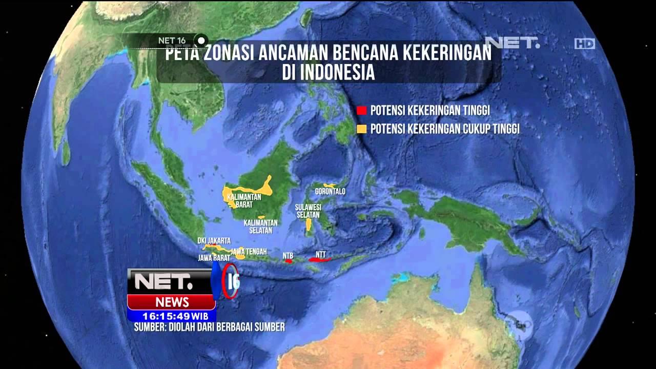Perhatikan peta pergerakan angin di indonesia berikut in… read more kumpulan 9 gambar peta indonesia musim kemarau terupdate. Bmkg Prediksi Musim Kemarau Panjang Hingga November Net16 Youtube