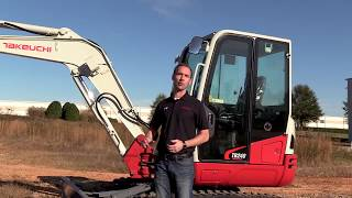 Video still for Takeuchi TB240 Track Roller and Travel Motor Feature