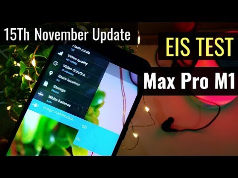 ZenFone Max Pro M1: EIS Test and Camera Samples (15th November Update)