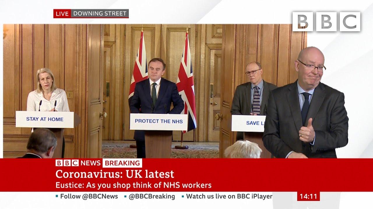 Coronavirus Shoppers Told To Buy Responsibly Bbc News Bbc Youtube