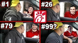 Driving Through The SAME Chick-Fil-A Drive Thru Until They REFUSE To Serve Me (100+ Times)