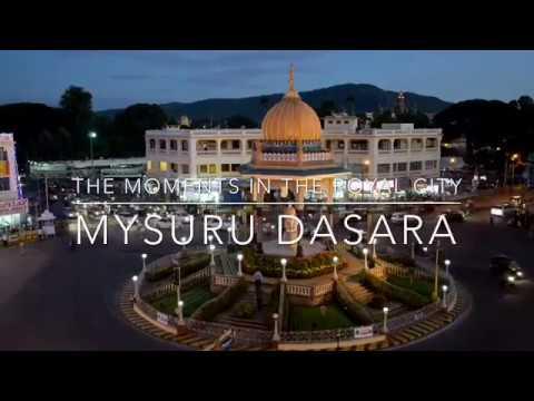 Mysore | Royal City Rounds | Mysuru Dasara | Aerial view