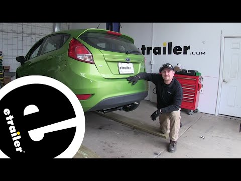 etrailer | Curt Trailer Hitch Installation - 2018 Ford Fiesta