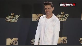 Zac Efron arrives at 2017 MTV Movie And TV Awards
