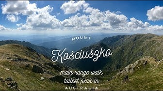Mount Kosciuszko - Tallest Peak in Australia