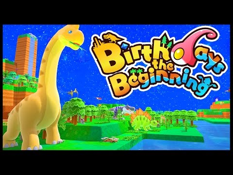 CREATING & EVOLVING LIFE! - Dinosaur Pokemon - Birthdays The Beginning