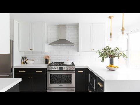 Before and After Hillside Kitchen Remodel