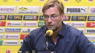 Die Pressekonferenz zur Vertragsauflösung von Jürgen Klopp   BVB total!