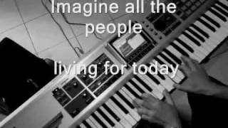 John Lennon - Imagine Piano (+ Lyrics)