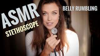 ASMR Gina Carla 🤰🏽Listen to my Stomach! Belly Rumbling w…