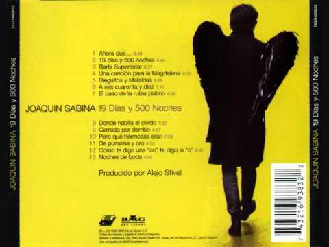 De purísima y oro - Joaquín Sabina