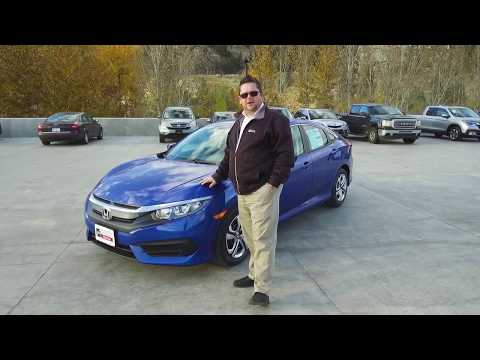 New 2018 Honda Civic LX Sedan Walkaround - Harmony Honda - Kelowna, BC
