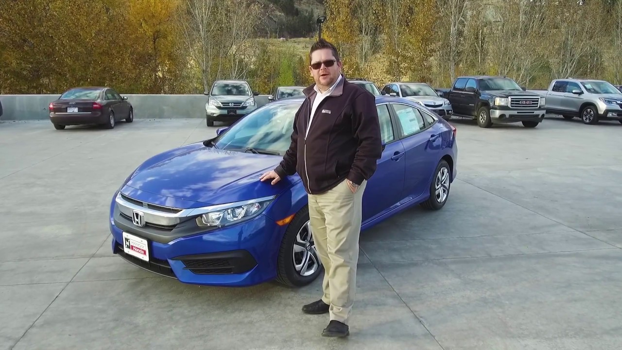 New 2018 Honda Civic LX Sedan Walkaround