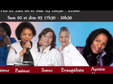 Séminaire des Femmes MDC GUADELOUPE du 01-04-16 au 06-04-16.