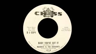 Maurice & The Radiants - Baby You
