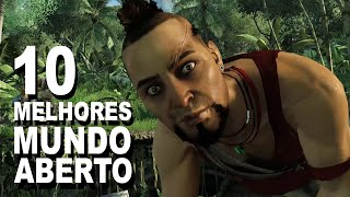 10 Melhores Jogos de MUNDO ABERTO do Xbox 360 e PS3 (10 Best Open World Xbox 360 & PS3)