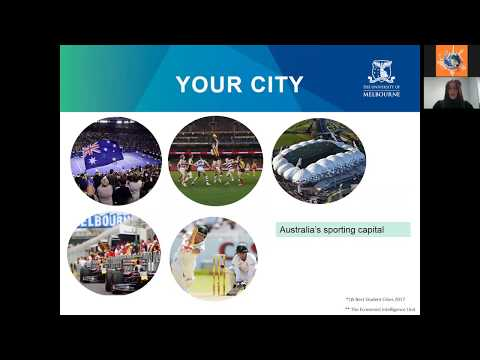 "Вебинар ""Study at the University of Melbourne with Global Education"""