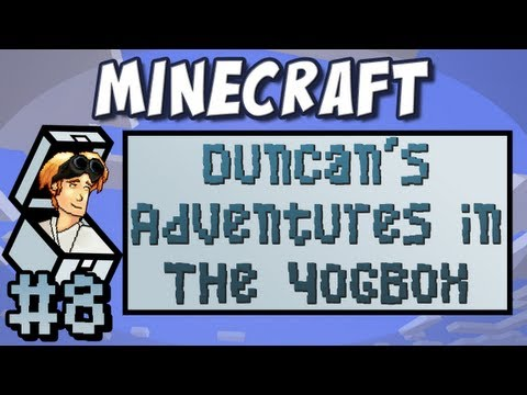 Minecraft: Yogbox - Part 8 - Up, up and Away!