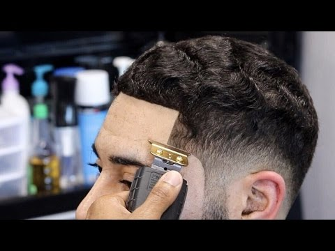 Barber Student Tutorial Straight Hair Low Fade With Waves