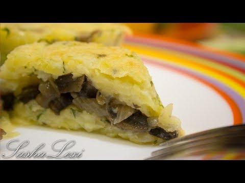 Картофельные корзиночки с грибами и сыром! Супер вкусная закуска! Рецепт!