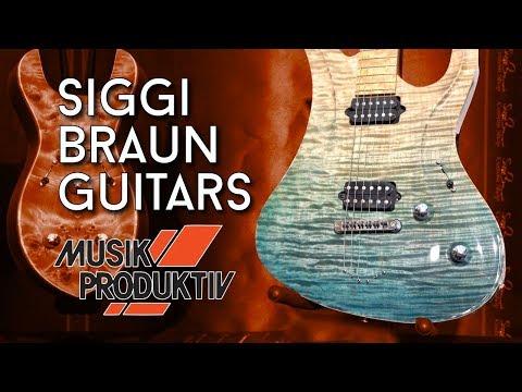 Siggi Braun Guitars At Musik Produktiv