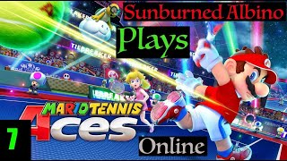 Sunburned Albino Plays Mario Tennis Aces Online EP 7